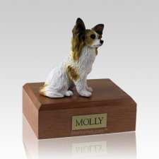 Papillon Brown Dog Urns