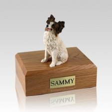 Papillon Large Dog Urn