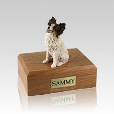 Papillon Medium Dog Urn