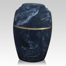 Paradiso Azul Marble Cremation Urn
