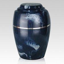 Paradiso Azul Marble Cremation Urn