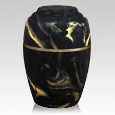 Paradiso Ebony Marble Cremation Urn