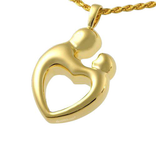 Parents Heart Cremation Pendant IV