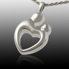 Parents Heart Cremation Pendant