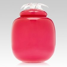 Passion Glass Cremation Urn