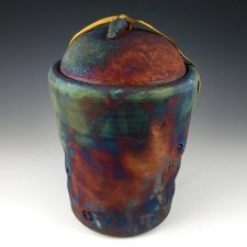 Passion Raku Cremation Urn