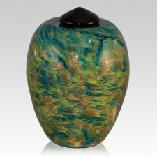 Pasture Glass Cremation Urn