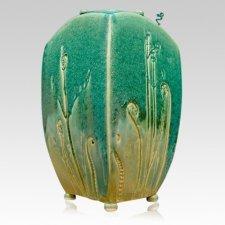 Pastures Ceramic Cremation Urn