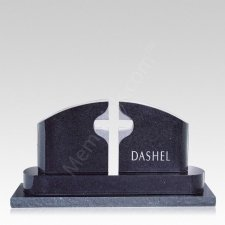 Pastures Companion Granite Headstone