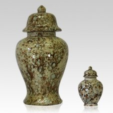 Patina Ceramic Pet Urns