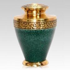 Patina Green Cremation Urn