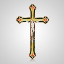 Patrician Gold Crucifix Applique