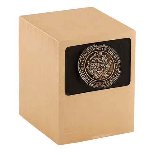 Patriot Navy Bronze Military Urn