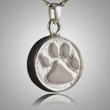 Pet Paw Cremation Pendant III