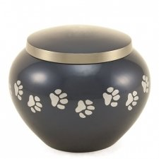 Paw Print Moonlight Large Pet Urn