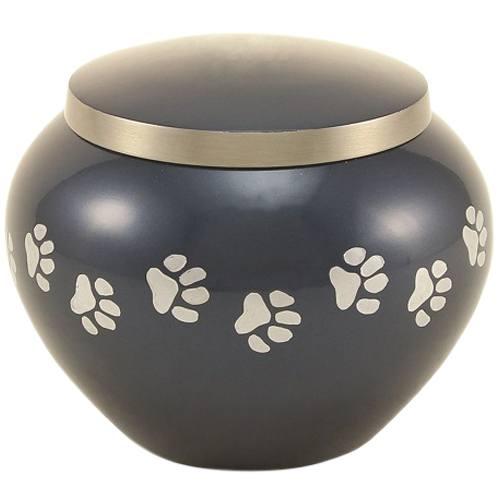 Paw Print Moonlight Large Pet Urn