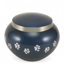 Paw Print Moonlight Medium Pet Urn