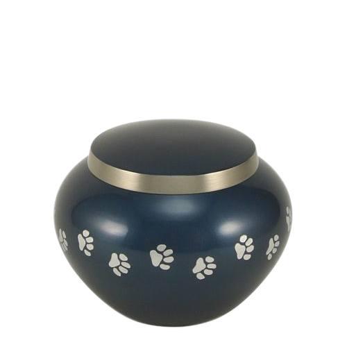Paw Print Moonlight Small Pet Urn