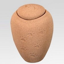 Paw Print Sand Large Biodegradable Urn