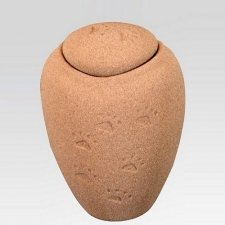Paw Print  Sand Medium Biodegradable Urn