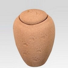 Paw Print Sand Small Biodegradable Urn