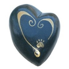 Paw on My Heart Pet Keepsake Urn
