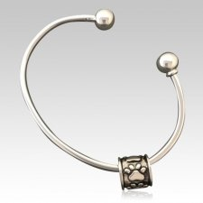 Paws Cremation Bangle