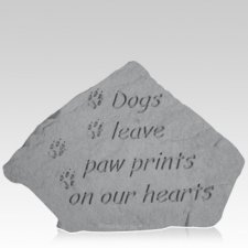 Paws on Our Hearts Memorial Stone
