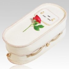 Peace Medium Biodegradable Pet Casket