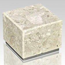 Peace Perlato & Silver Stone Pet Urn