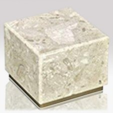 Peace Perlato Stone Pet Urn