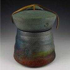 Peace Raku Cremation Urn