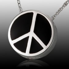 Peaceful Cremation Pendant III