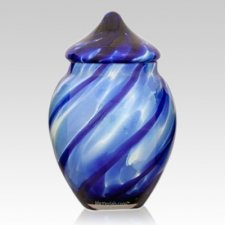 Peaceful Glass Pet Urn