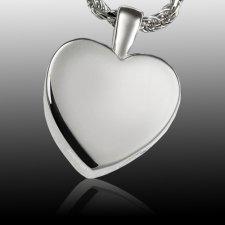 Peaceful Heart Cremation Pendant III