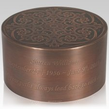 Peak Copper Cremation Urns