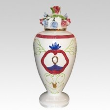 Pearl Mother Cremation Urn