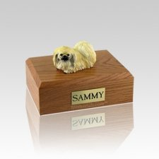Pekingese Laying Small Dog Urn