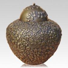 Perennial Bronze Cremation Urn