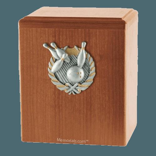 Perfect Strike Light Cherry Cremation Urn