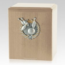 Perfect Strike Maple Cremation Urn
