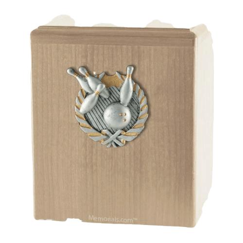 Perfect Strike Maple Cremation Urn
