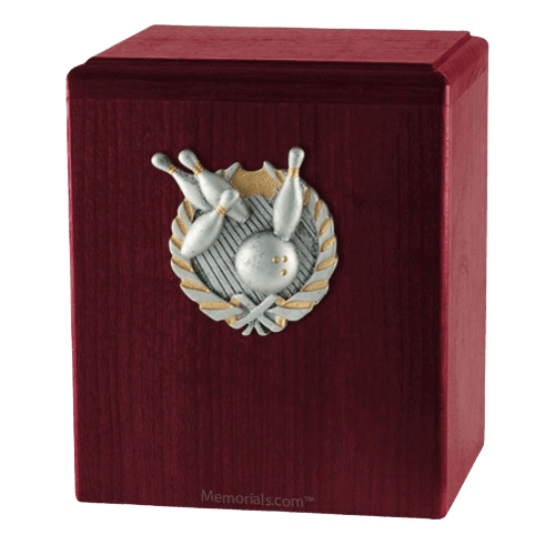 Perfect Strike Rosewood Cremation Urn