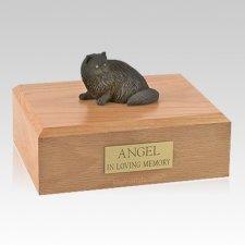 Persian Black Laying X Large Cat Cremation Urn