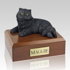 Persian Black X Large Cat Cremation Urn