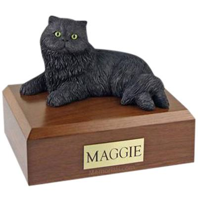 Persian Black X Large Cat Cremation Urn
