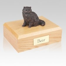 Persian Bronze Cat Cremation Urns