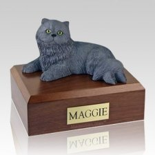 Persian Grey X Large Cat Cremation Urn