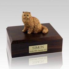 Persian Orange Large Cat Cremation Urn