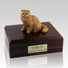 Persian Orange X Large Cat Cremation Urn